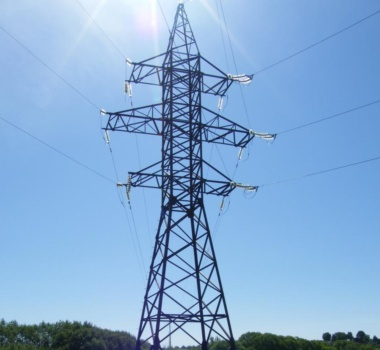 Steel OHL towers 110 kV