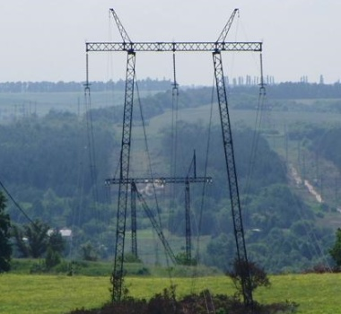 Steel OHL towers 330 kV