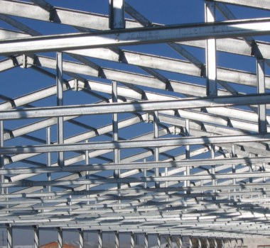 Steel Structures for Warehouses and Logistics Parks