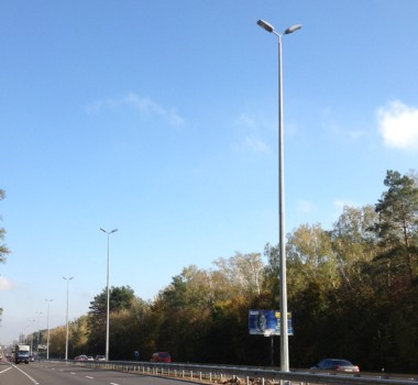 Lighting poles and masts
