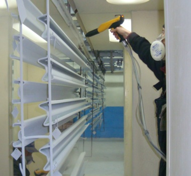 Порошкове фарбування металоконструкцій