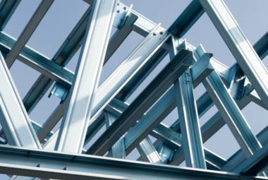 Steel structures for construction